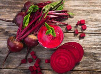 Červená řepa – pro správné fungování lidského těla